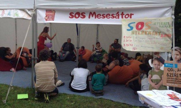 Ahol életre kelnek a mesehősök – SOS Mesesátor a Gyerek Szigeten